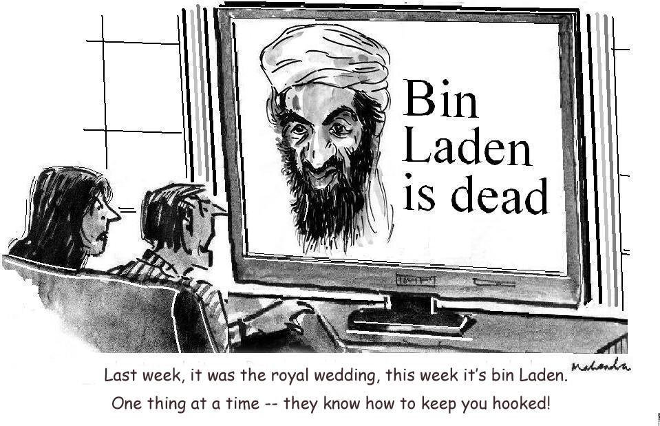 No Bin Laden is dead!
