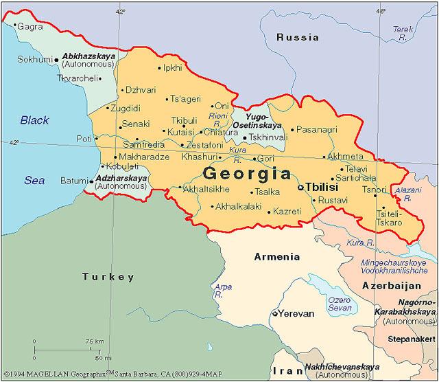 The PunjabGeorgia Farmer Exchange Program FunnyColumns - Georgia kazbegi map
